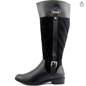 Black Made for Walking Chic Riding Boots